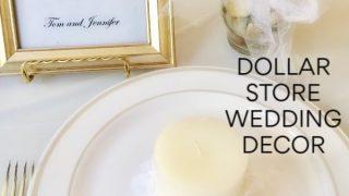 dollar store wedding decor ideas