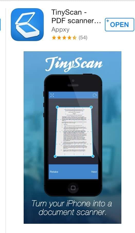 Tiny-scan-app
