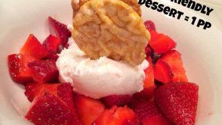 Weight Watcher Friendly Strawberry Dessert
