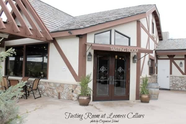 Tasting Room at Leoness Cellars