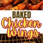 Healthy Baked Chicken wings