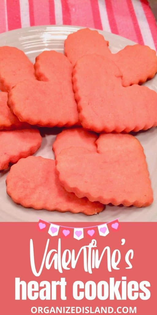 Valentine's Heart Cookies