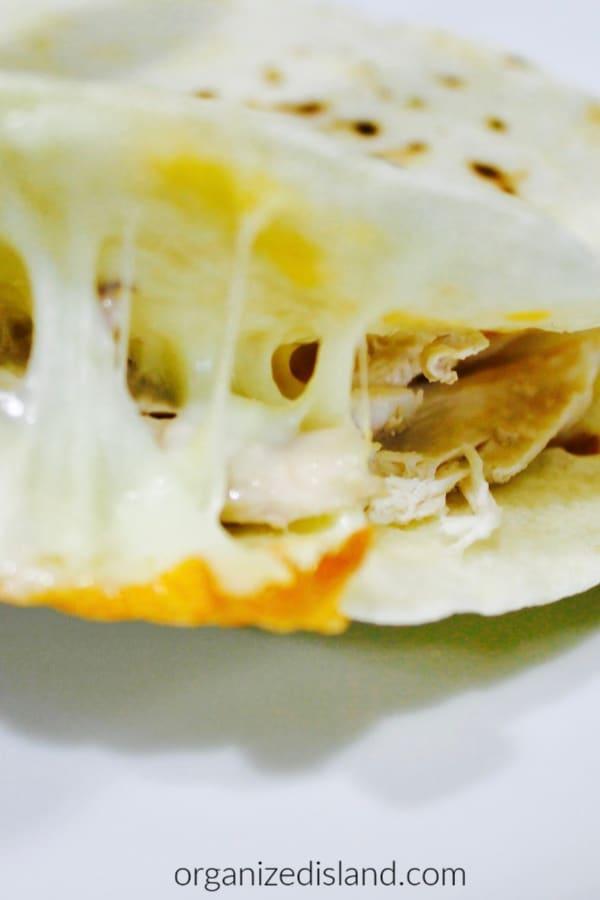 Easy vegeytble quesadillas