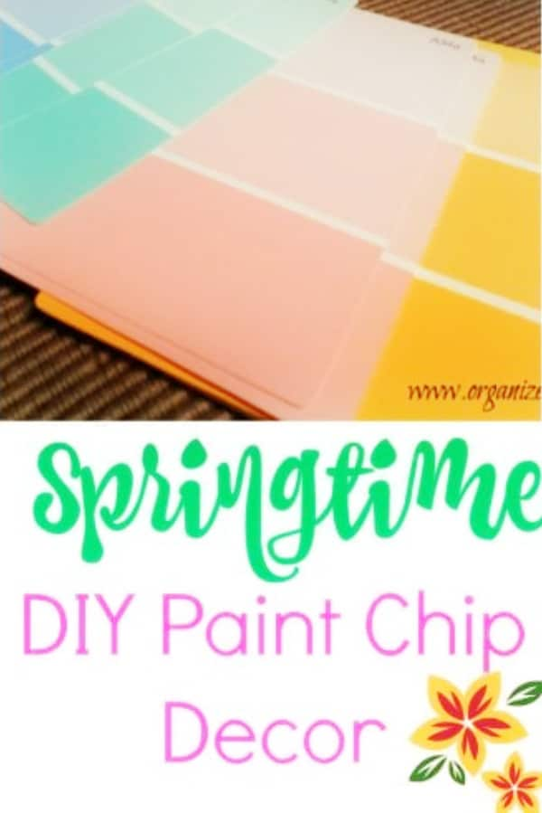Spring Paint Chip crafts