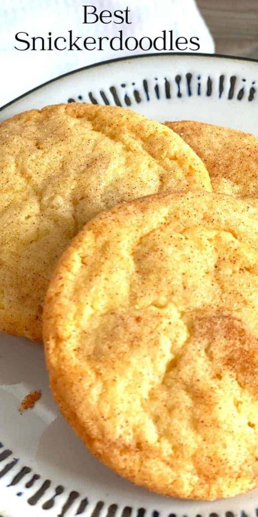 Best Snickerdoodles hese soft and light Snickerdoodles are so light and almost cake-like. I have changed up the classic Snickerdoodle recipe for years!