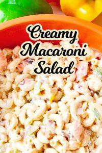 Creamy Macaroni Salad Recipe