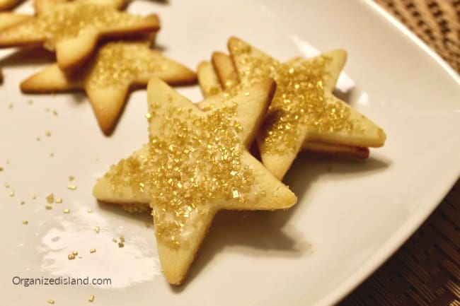 award show star cookies