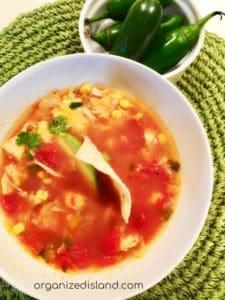 Easy Tortilla Soup