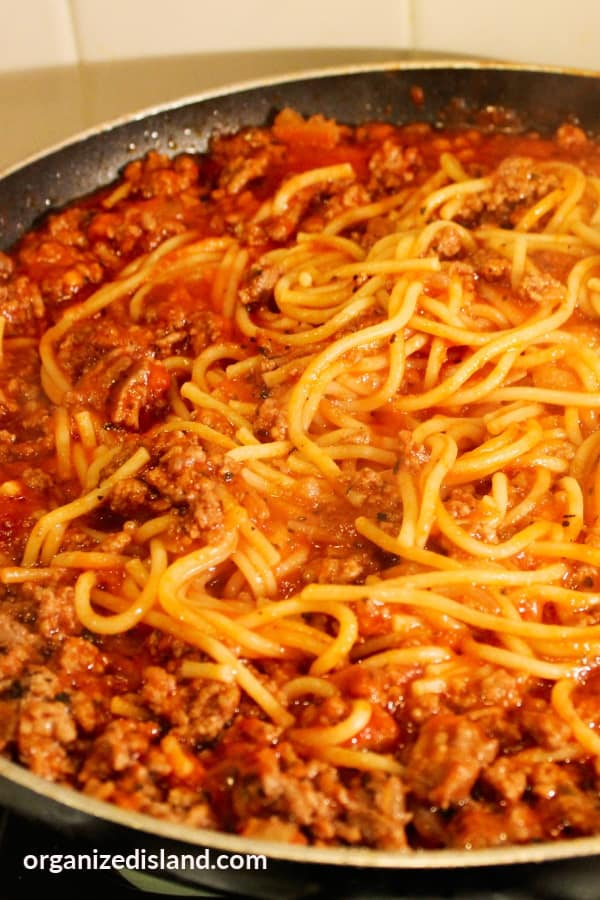 Best homemade spaghetti