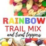 Rainbow Treat Bags Trail Mix