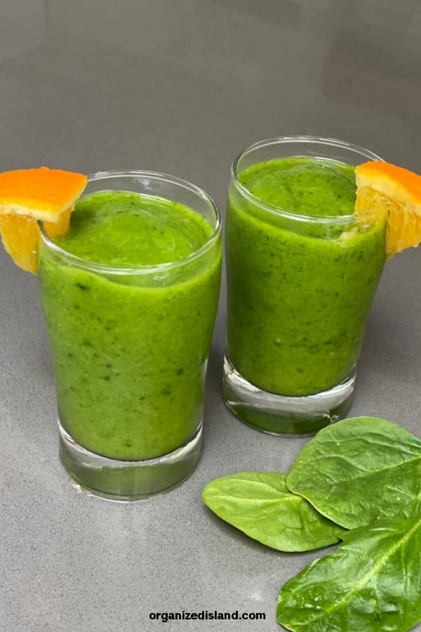 Mango and spinach Smoothie Recipe