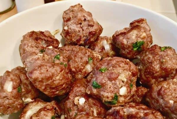 oven baked meatballs
