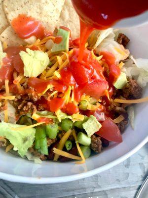 Easy taco salad recipe