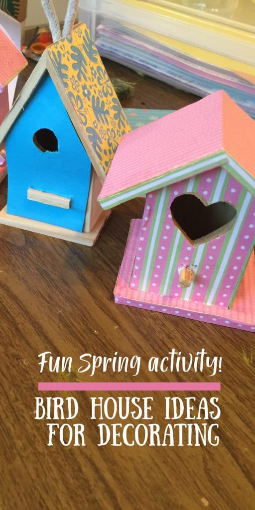 Bird House Ideas For Decorating
