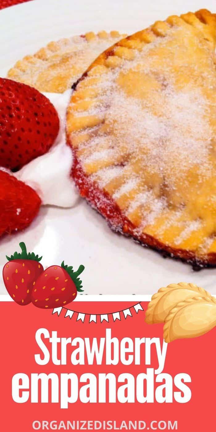 Strawberry Empanadas Recipe