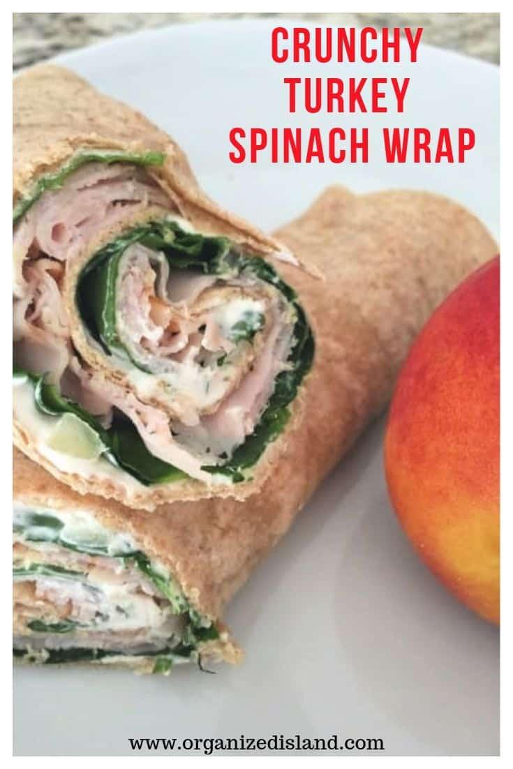 Easy Turkey Wrap Sandwiches