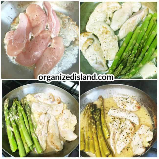 How to make Chicken with Asparagu