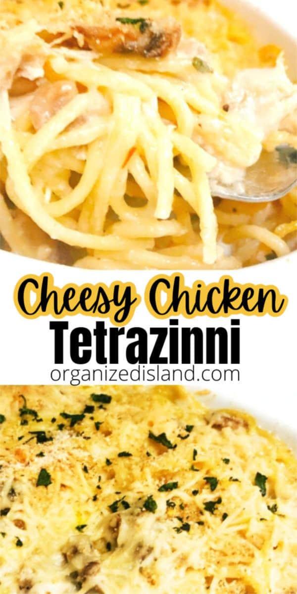 Cheesy Cheesy Tetrazinni