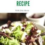 Fall Pear Salad REcipe