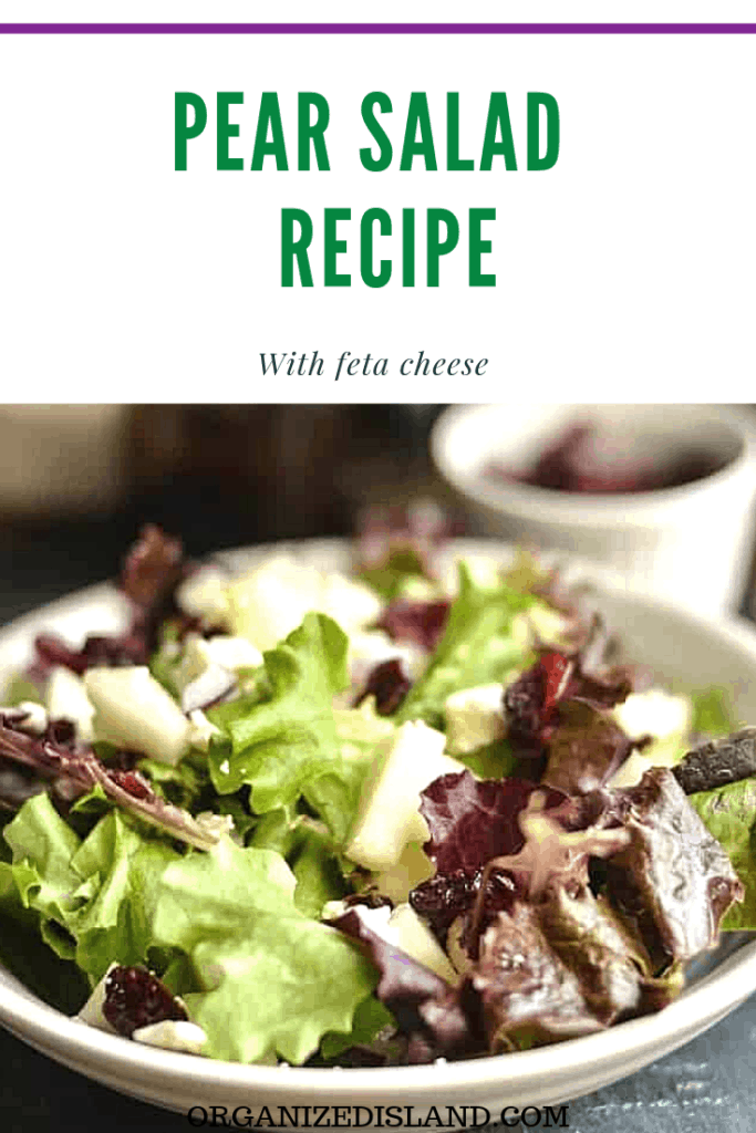 Fall Pear Salad REcipe