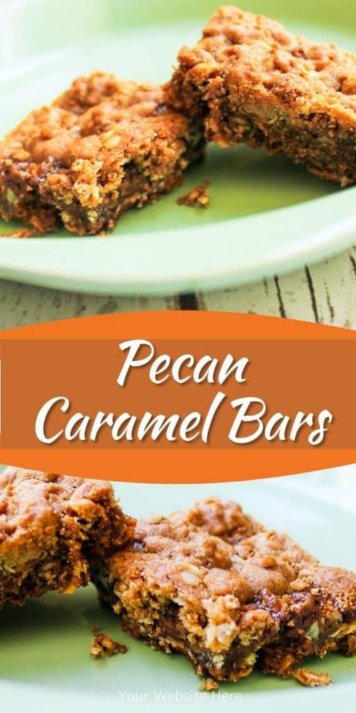 Pecan Caramel Bars