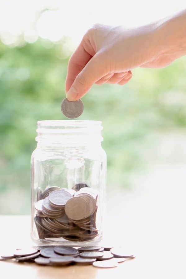 saving coins money
