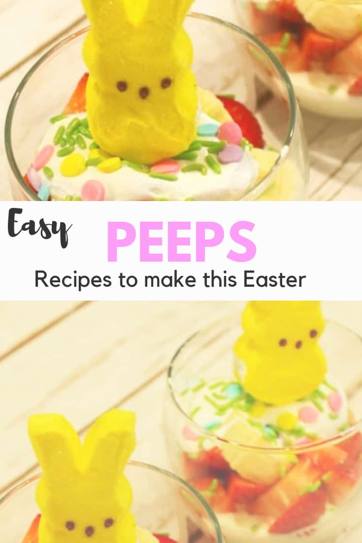 Peeps Recipe ideas