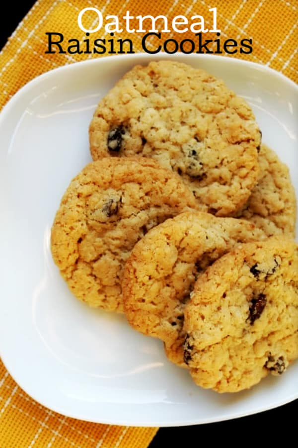 Best soft oatmeal cookies