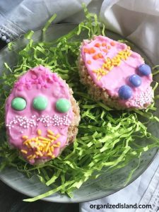 Easter Dessert Crispies