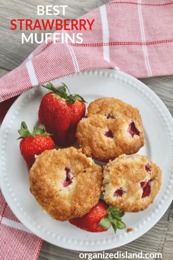 BEST STRAWBERRY MUFFINS