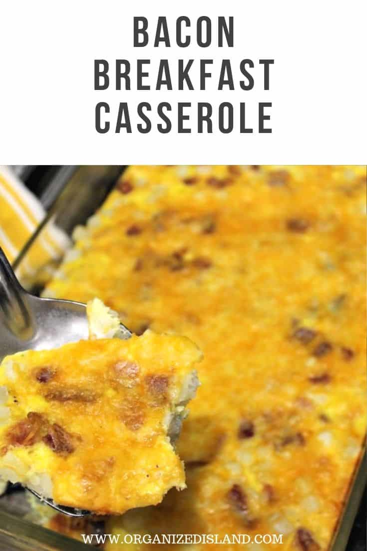 Bacon breakfast casserole easy