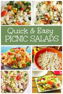 Easy Picnic Salads