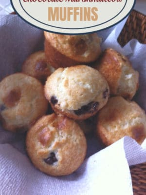 Chocolate Marshmallow Easy Muffin Recipe