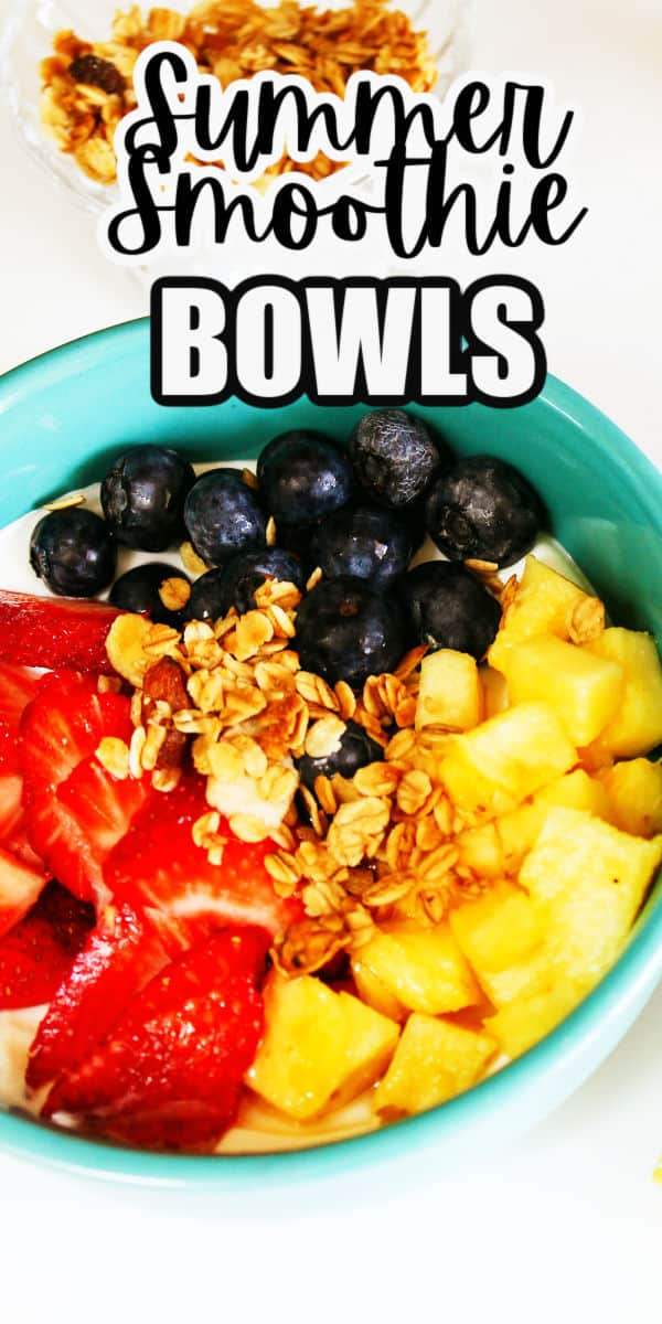 Simple Smoothe Bowls