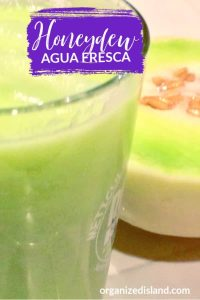 Homemade Honeydew Agua Fresca Recipe