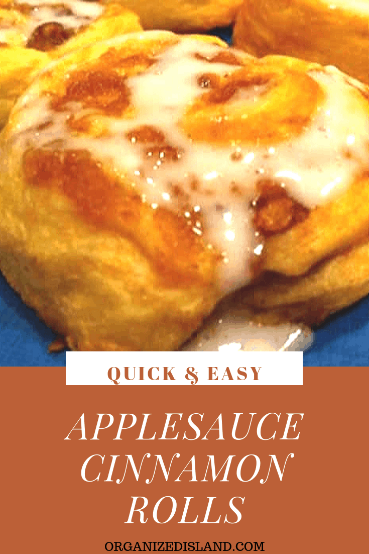 Applesauce cinnamon rolls