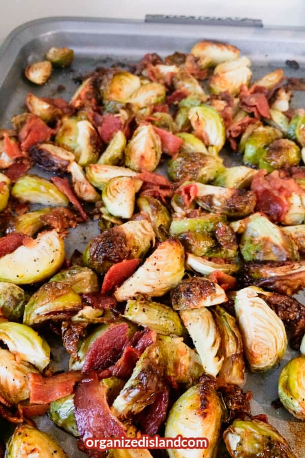 Oven Brussels Sprouts