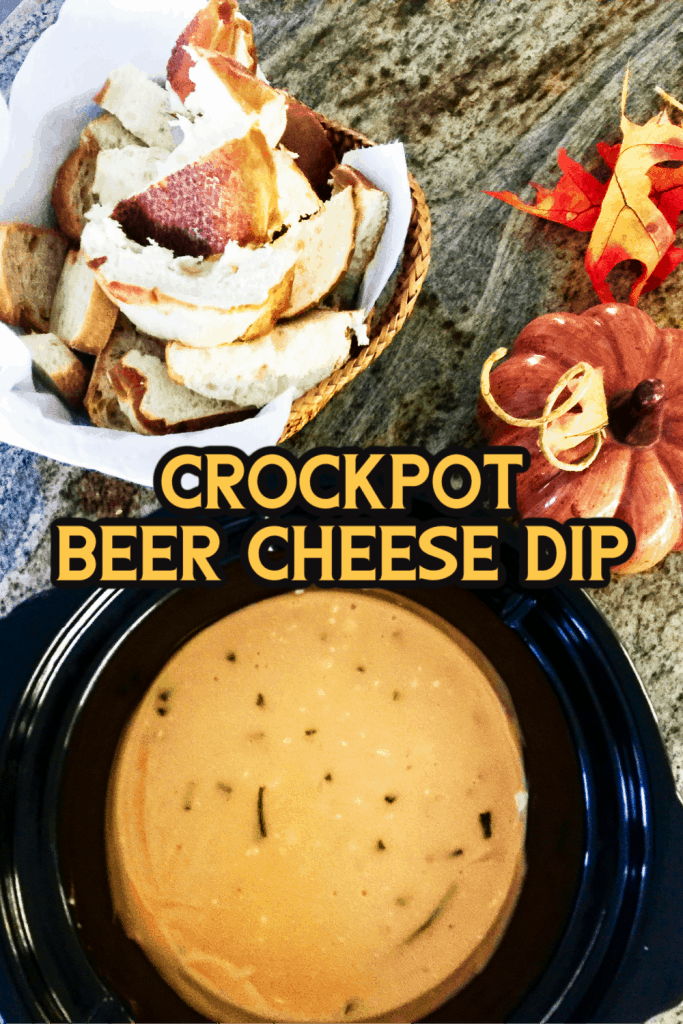 Crockpot Beer Cheese Dip
