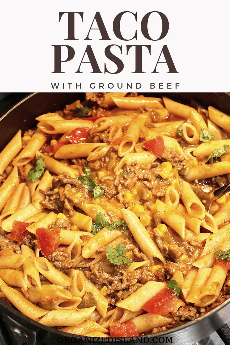 Easy Taco Pasta Recipe
