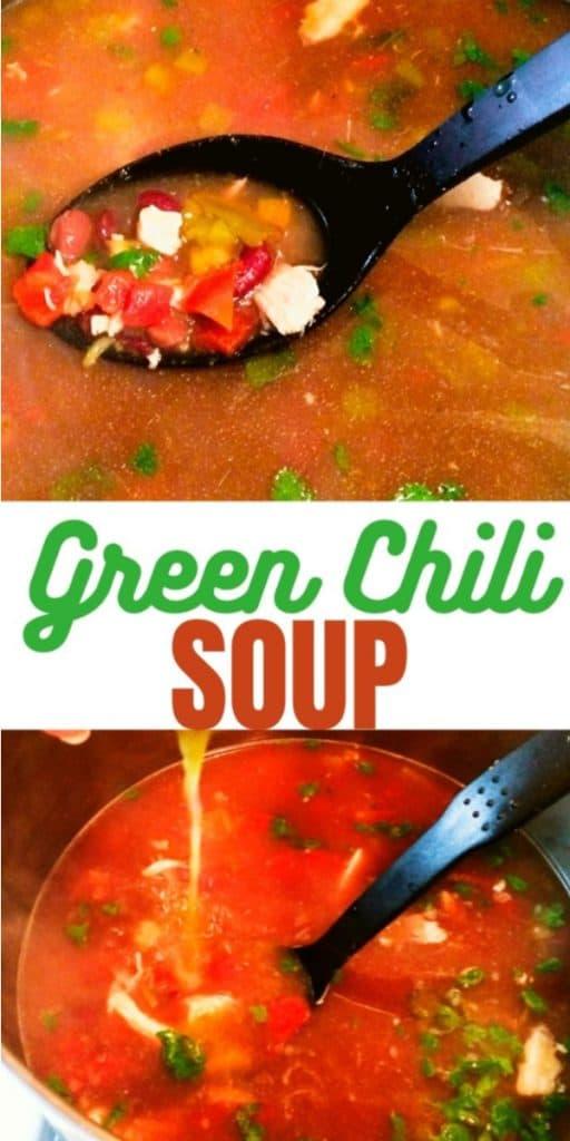 Green chili soup
