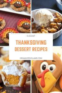 Elegant Thanksgiving Desserts