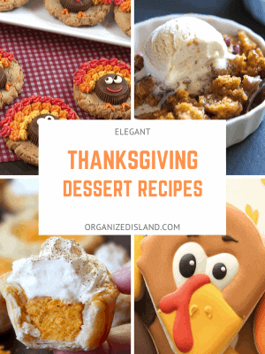 Elegant Thanksgiving Desserts