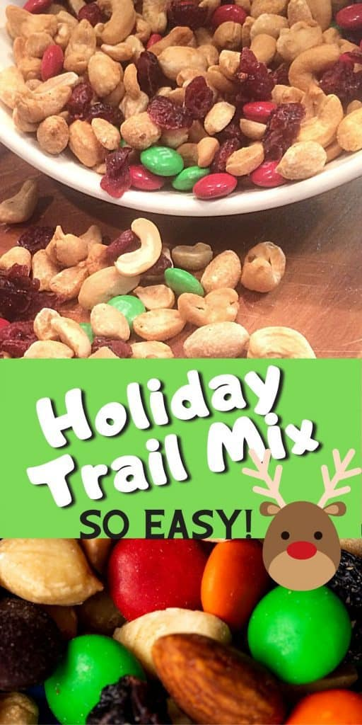 Holiday Snack Recipe - Holiday trail mix