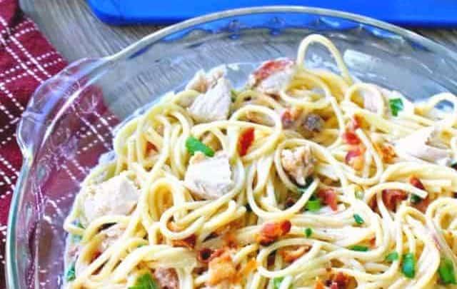 Chicken Pasta with Gouda
