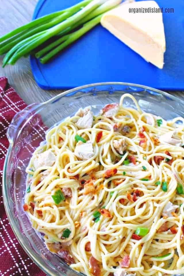 Chicken Pasta with Gouda