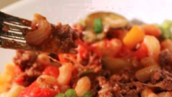 One Pot Beef Pasta Dinner
