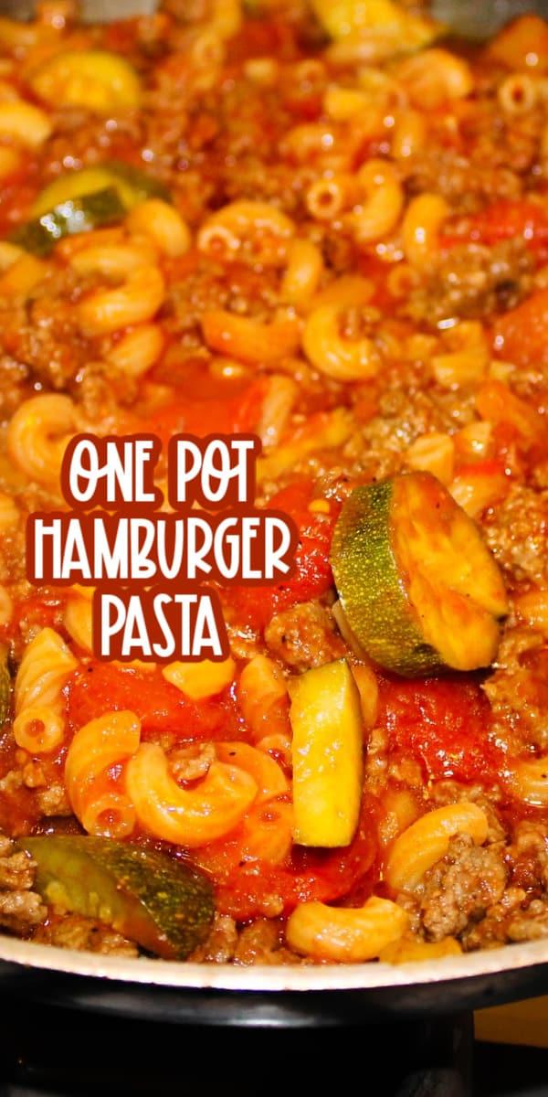 beef pasta hamburger helper