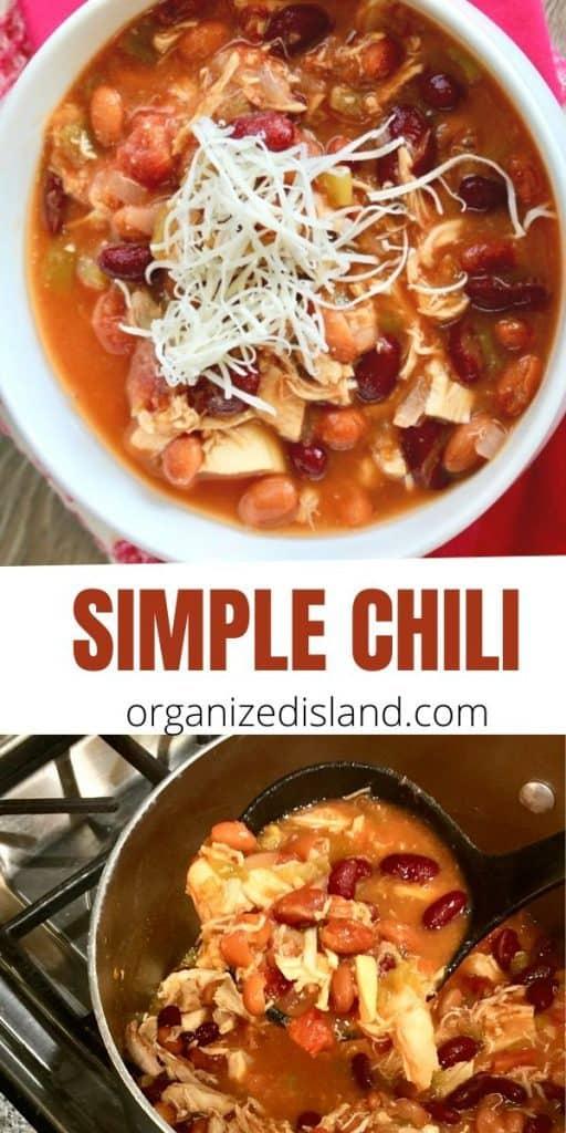 simple chicken chili