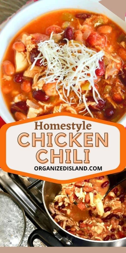 Homestyle Chicken Chili