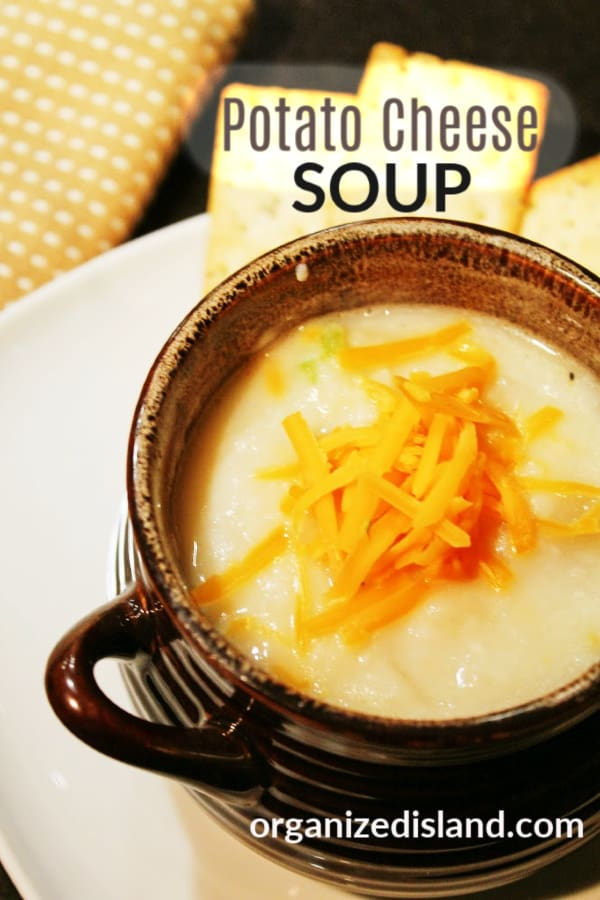 Potato Cheese Soup Easy